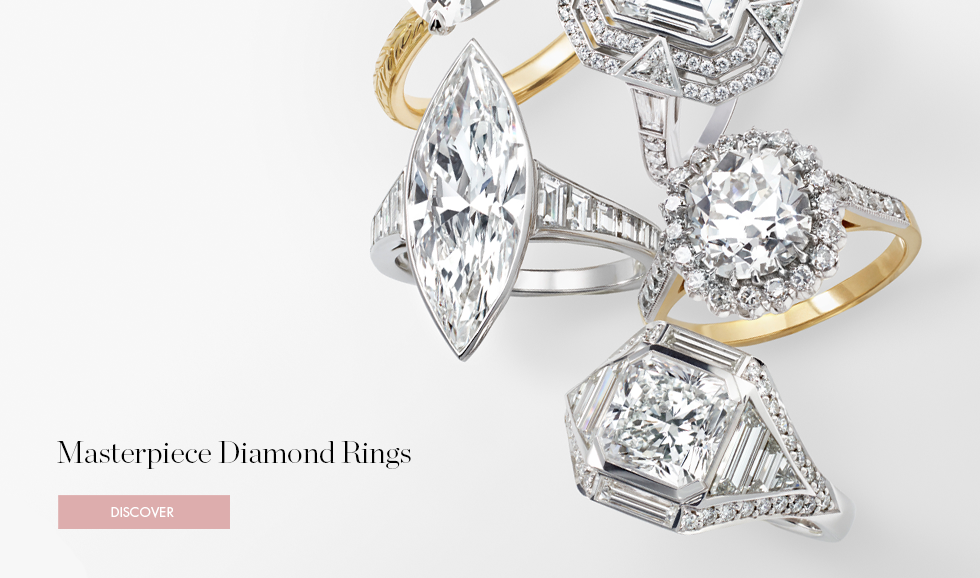 Masterpiece Diamond Rings