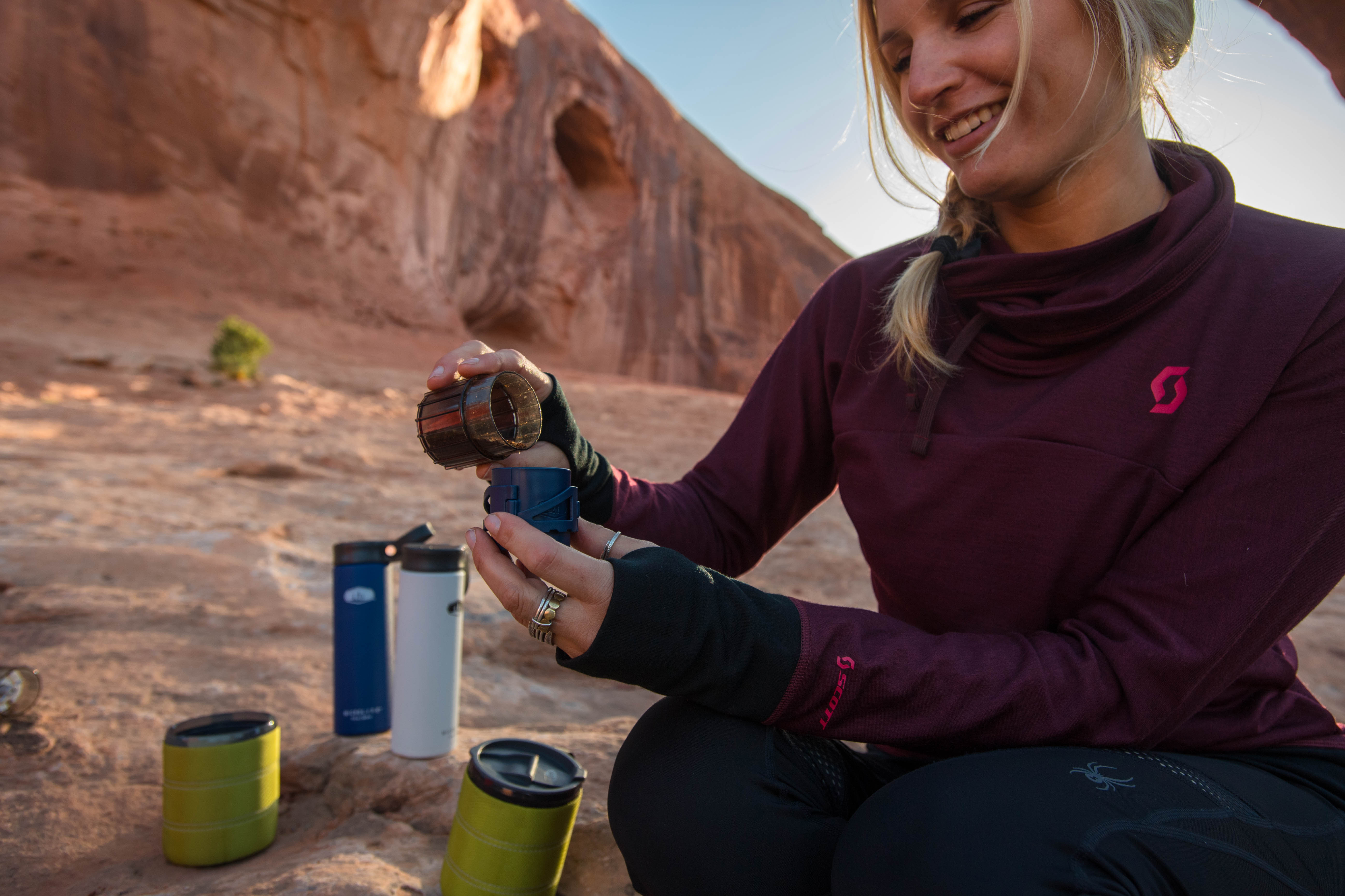 GSI Outdoors Coffee Rocket lifestyle