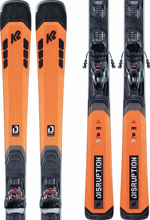 New K2 Disruption Ski Range