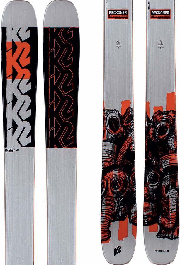 New K2 Reckoner Ski Range