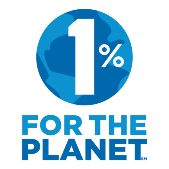 We Support 1% for the Planet