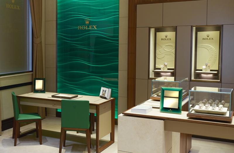 Rolex in Mayfair