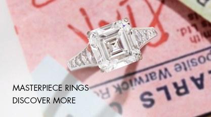 Masterpiece Diamond Ring