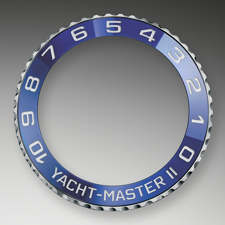 Rolex achieved perfection when it turned its attention to redefining the purpose and functionality of the bezel. Typically, a bezel operates independently from the internal mechanism; however, the Ring Command bezel in the Yacht-Master II regatta chronograph operates in conjunction with it. As a mechanical component linked to the movement, the bezel literally acts as the key to the programmable countdown, allowing it to be set and synchronised to the sequence of race start times. Complex in design, but simple in use, it is functionally beautiful.